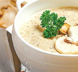 Cream soup mushrooms